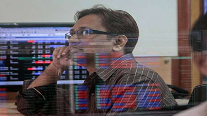 Sensex retreats from lifetime high, ends 68 pts lower; Nifty above 12K- India TV Paisa