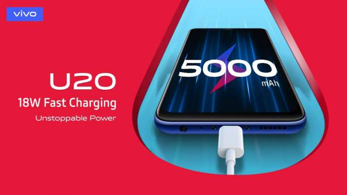 Vivo U20 with 5000mAh battery launched in India- India TV Paisa