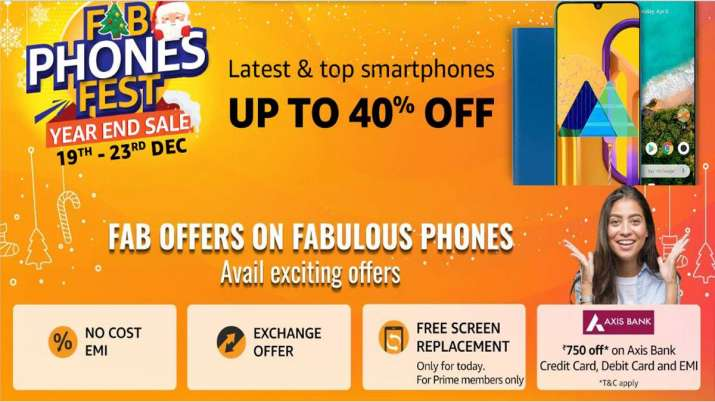 Amazon Fab Phones Fest Begins, Price Cuts on Top Brands Phones and More Offers- India TV Paisa