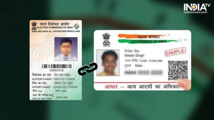 Voter Id Card Link with Aadhar Card, Voter Id Card, Aadhar Card, law ministry, budget session 2020- India TV Paisa