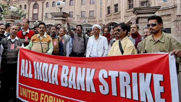 Bank unions call two-day strike from January 31- India TV Paisa