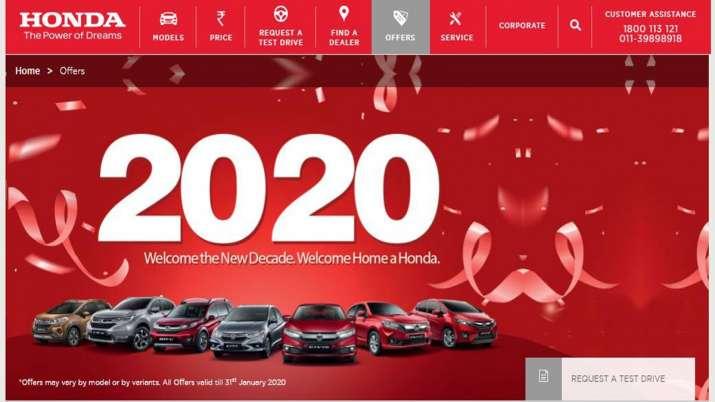 buy your favourite Honda car at an amazing discount- India TV Paisa