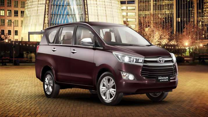 Toyota Kirloskar opens booking for BS-VI compliant Innova Crysta- India TV Paisa