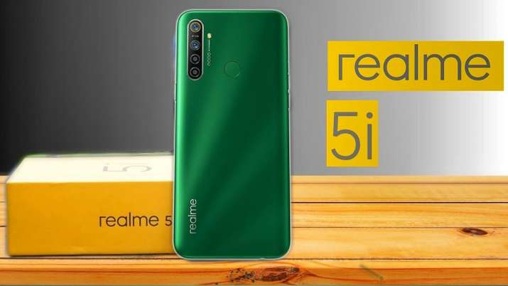 Realme 5i with 5,000 mAh battery and quad-camera setup launched in India at Rs 8,999- India TV Paisa