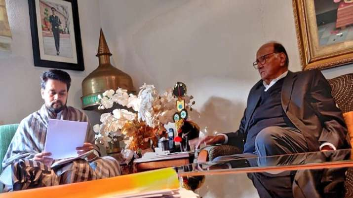 NCP Chief Sharad Pawar, Anurag Singh Thakur, PMC Bank- India TV Paisa