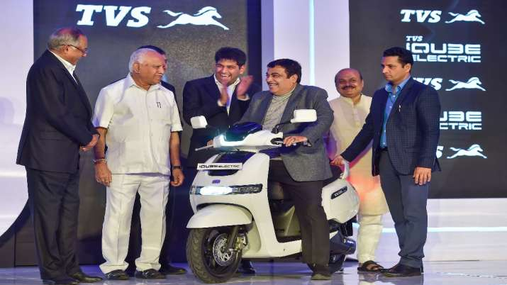 TVS Motor Company, TVS iQube electric scooter, electric two wheeler- India TV Paisa