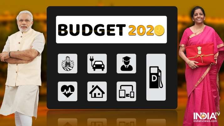 Union Budget 2020, Budget 2020, Finance Minister, Nirmala Sitharaman, income tax slab- India TV Paisa