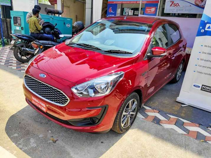 Ford introduced Figo, Freestyle, Aspire with BS-6...- India TV Paisa