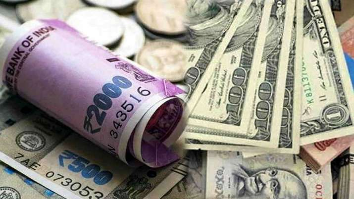 Rupee strengthens by 10 paise on lower crude, weak dollar- India TV Paisa