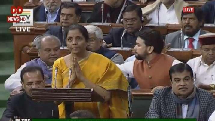 Finance Minister, Nirmala Sitharaman, Budget 2020, budget speech- India TV Paisa