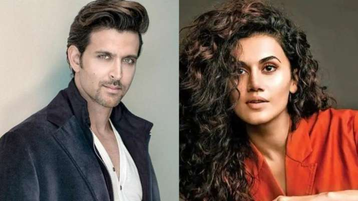 hrithik roshan and taapsee pannu- India TV