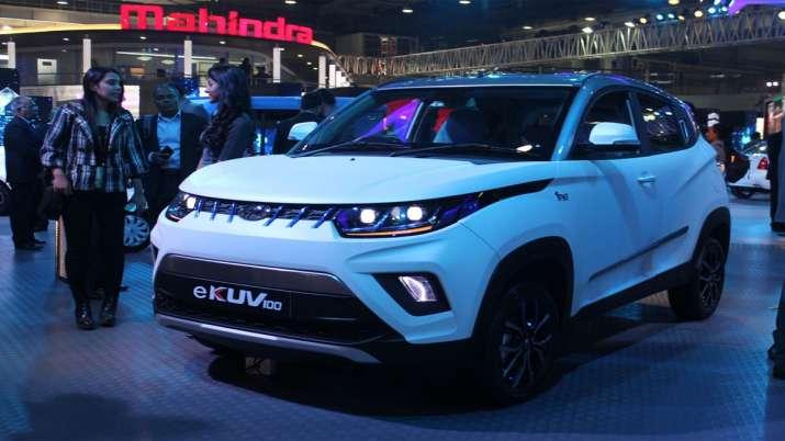 Mahindra launches eKUV100 priced at Rs 8.25 lakh- India TV Paisa
