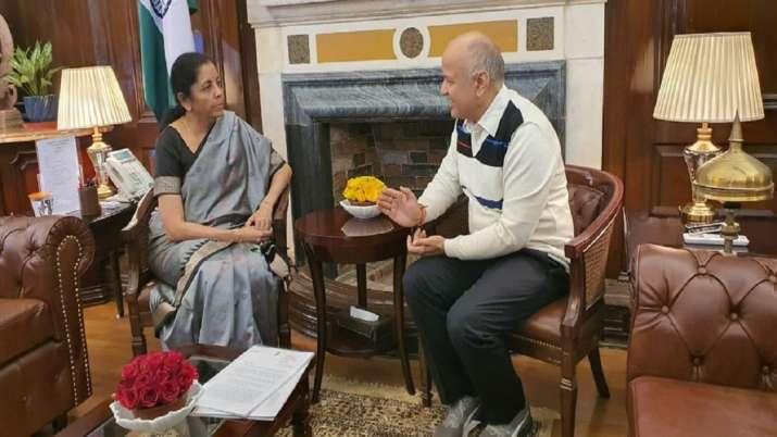 Deputy Chief Minister, Manish Sisodia, FM Nirmala Sitharaman- India TV Paisa