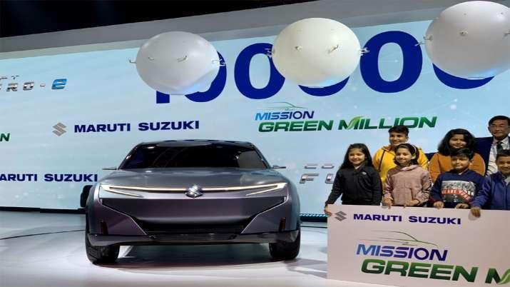 Maruti Showcasing its electric SUV concept Futuro-e at Auto Expo 2020- India TV Paisa