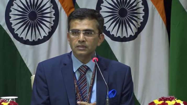 Raveesh Kumar, MEA spokesperson, china, Medical equipment from China, MEA- India TV Paisa