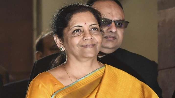 वित्त मंत्री निर्मला सीतारमण - India TV Paisa