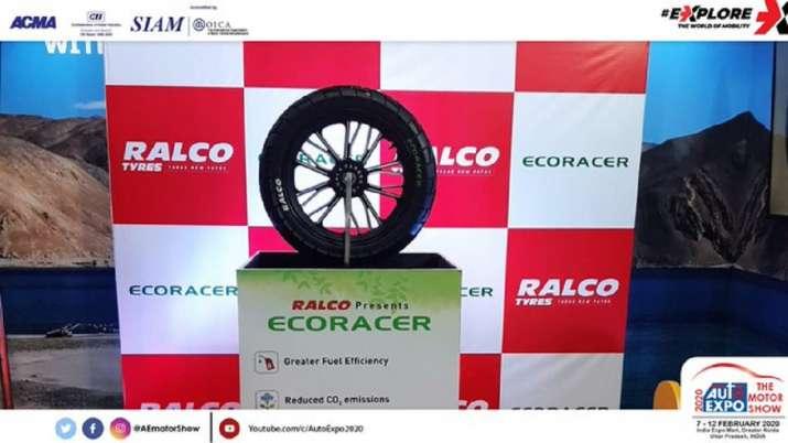 Ralson Ecoracer Tyre, auto expo 2020, Eco Friendly Tyre, motorcycle tyre- India TV Paisa