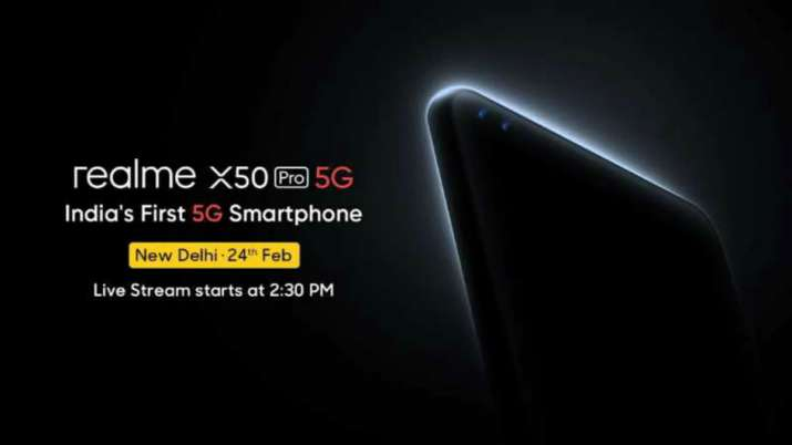 Realme X50 Pro 5G will launch in india on February 24- India TV Paisa
