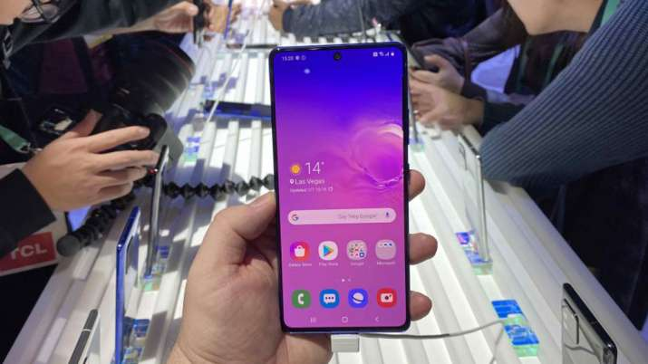 Samsung launches 512GB variant of Galaxy S10 Lite in India- India TV Paisa