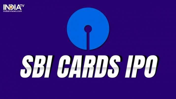 SBI Cards & Payment Services sets IPO price band at Rs 750-755- India TV Paisa