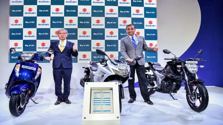Suzuki Motorcycle India showcases Katana, GSX-RR MotoGP, V-Strom 650XT at the Auto Expo 2020- India TV Paisa