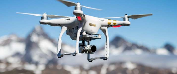use of drones to enforce lockdown- India TV