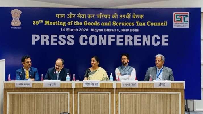 Finance Minister, Nirmala Sitharaman, 39th GST council meeting, GST- India TV Paisa