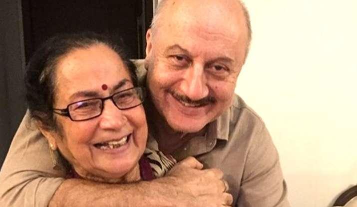 anupam kher mother- India TV