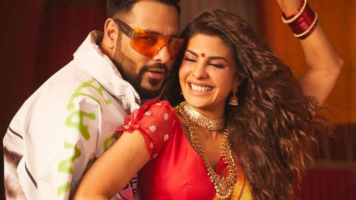 jacqueline fernandez and badshah- India TV