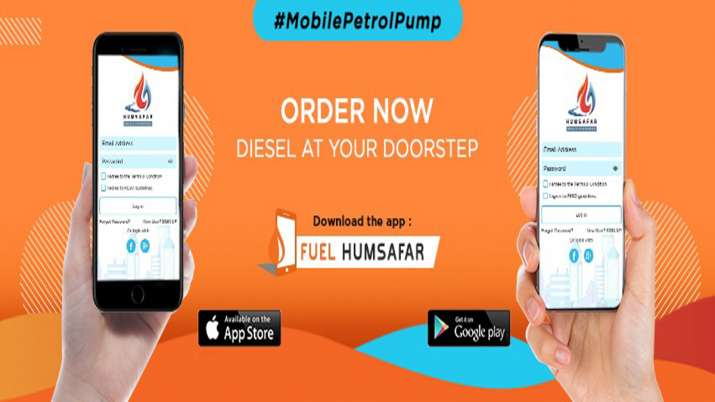 Labor Minister Santosh Gangwar launches Humsafar mobile app for doorstep diesel delivery- India TV Paisa