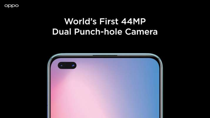 OPPO Reno3 Pro with dual punch-hole selfie camera in India- India TV Paisa