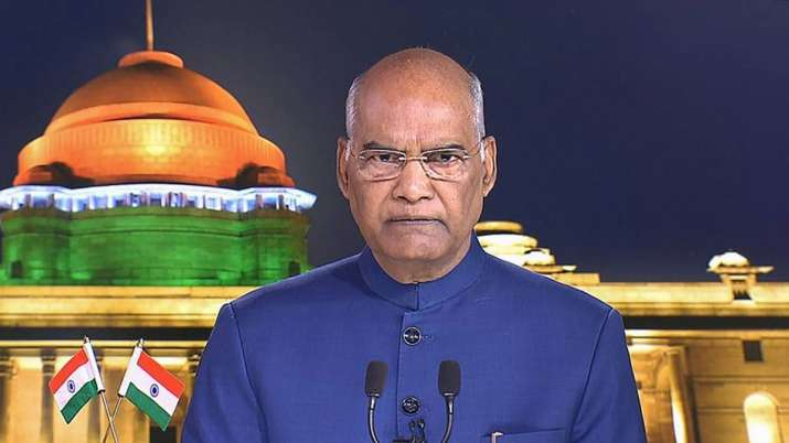 President Ram Nath Kovind to address Governors amid coronavirus crisis- India TV