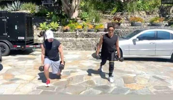 priyanka chopra nick jonas workout- India TV