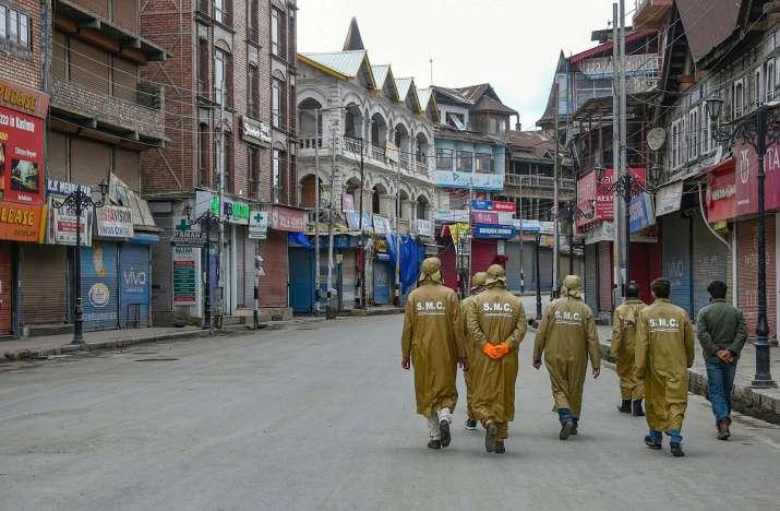 Kashmir Coronavirus- India TV