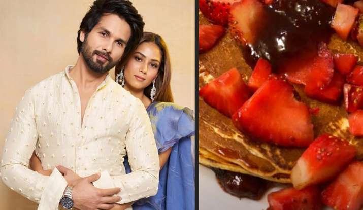 Photo of लॉकडाउन में शाहिद कपूर पत्नी के लिए बनें शेफ,  मीरा राजपूत के लिए बनाया पैनकेक
