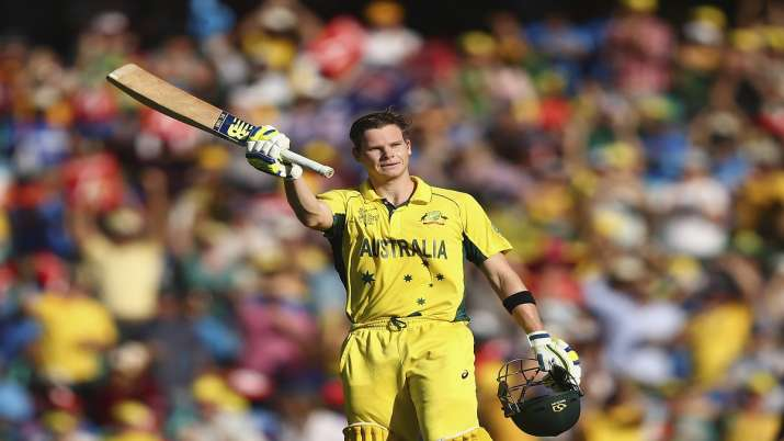 Steve Smith, 2015 World Cup, World Cup, Smith, MS Dhoni, this day that year, India vs Australia, cri- India TV