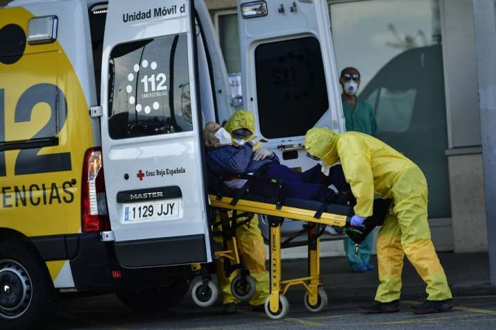 Photo of Spain में Coronavirus से 24 घंटे में 838 लोगों की मौत