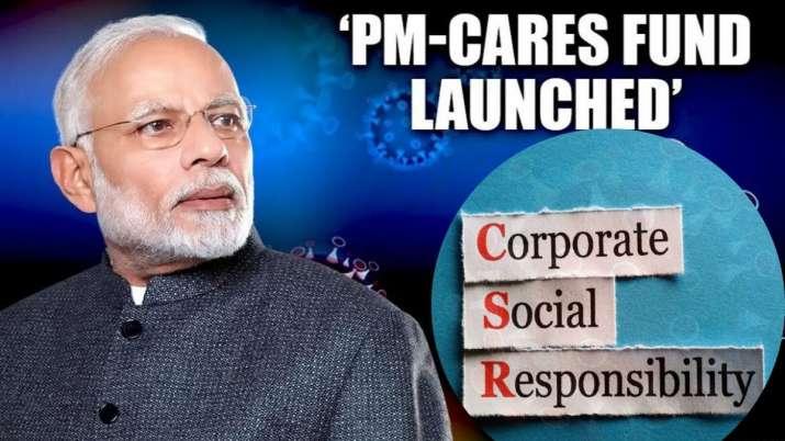 Coronavirus outbreak, PM-CARES Fund, CSR spending - India TV Paisa