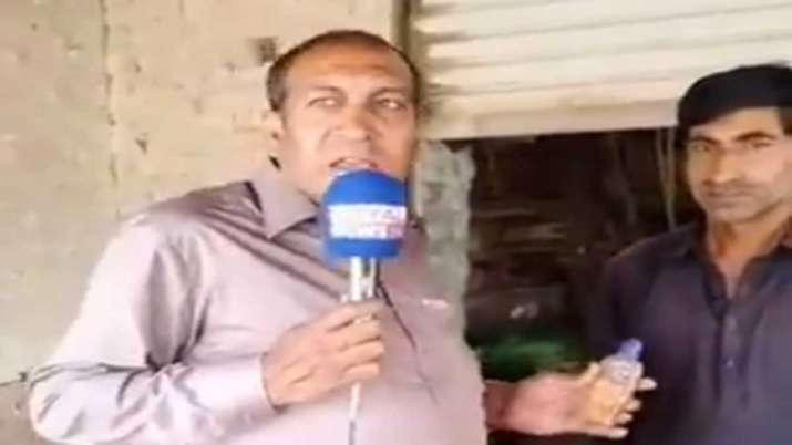 pak reporter viral video on corona virus- India TV