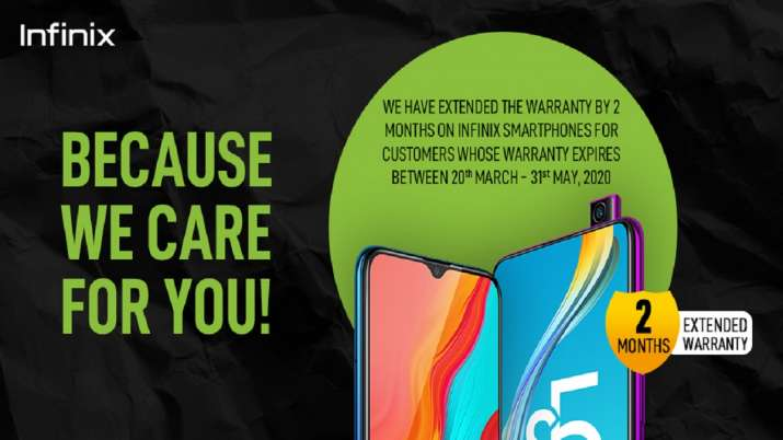 Infinix India comes forth for customers' convenience, extends warranty by 2 months- India TV Paisa