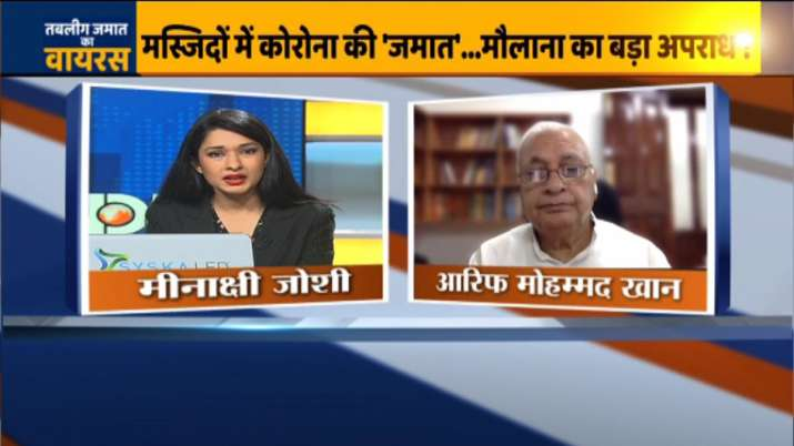 Arif Mohammad Khan on India TV- India TV Hindi