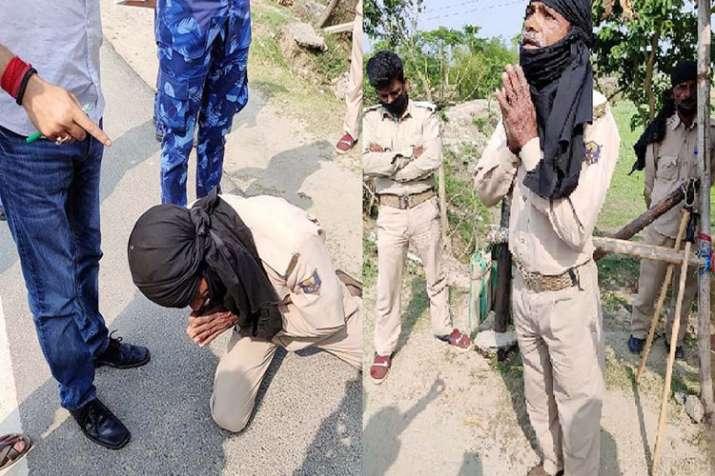 Photo of बिहार: Lockdown में अधिकारी की गाड़ी रोकी तो चौकीदार से करवाई उठक-बैठक, VIDEO वायरल