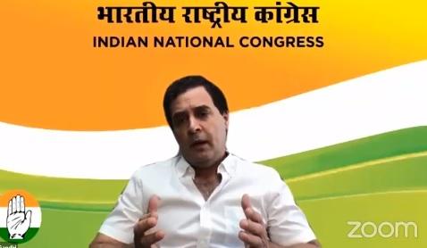 Rahul Gandhi latest press conference on coronavirus Lockdown and indian economy- India TV Paisa