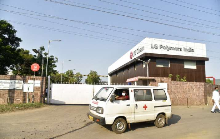 LG polymers plant- India TV Paisa