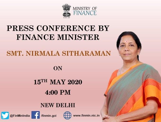 Finance Minister Nirmala Sitharaman Press Conference Economic Package live Updates- India TV Paisa