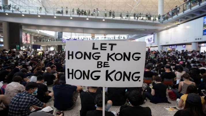 China seeks India's support for its new draconian law to crackdown on Hong Kong protestors- India TV Hindi