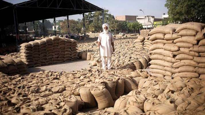 government allowed use of old sack plastic bags for grain purchase- India TV Paisa