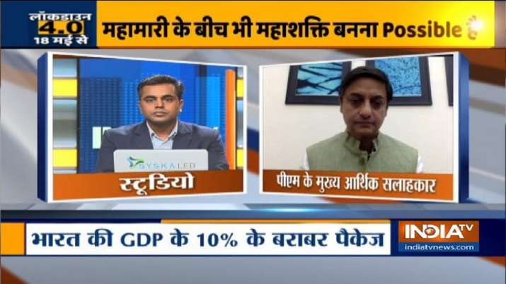 Government can thing on economic reforms like 1991 says Principal Economic Advisor Sanjeev Sanyal- India TV Paisa