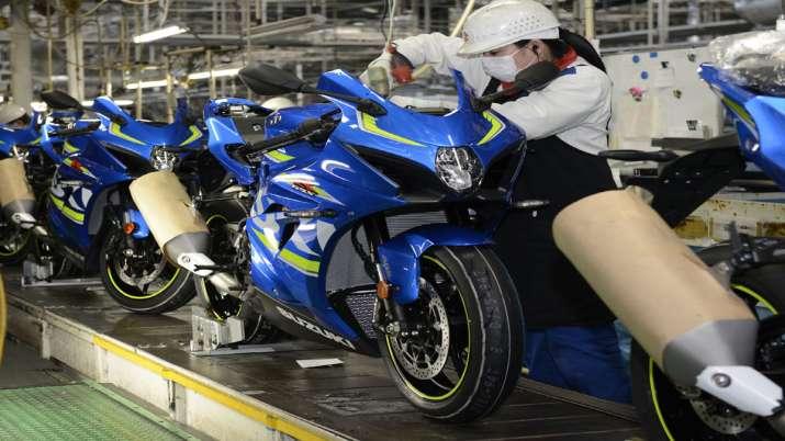 Suzuki Motorcycle India restarts operations in Haryana plant- India TV Paisa