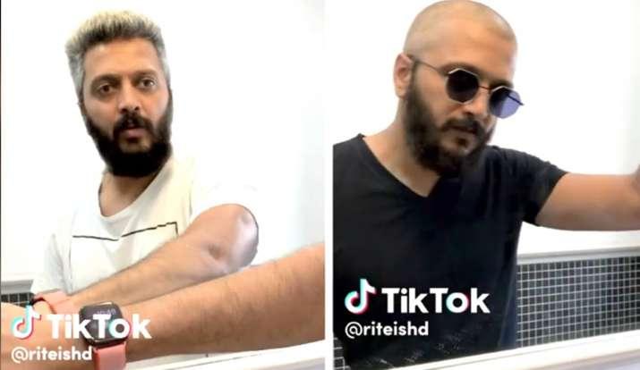 Riteish Deshmukh tiktok- India TV Hindi